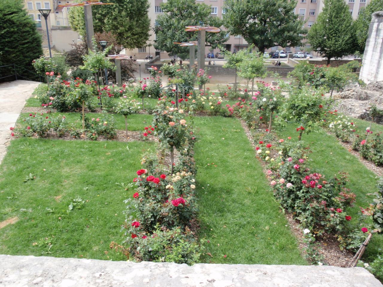 Vue des jardins Cybèle